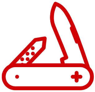 couteau suisse agilité